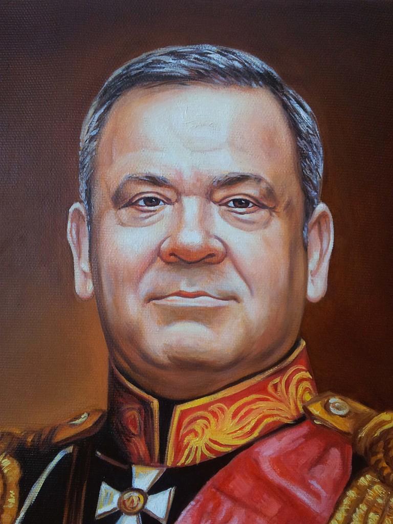 Портрет маслом на холсте в Косторме