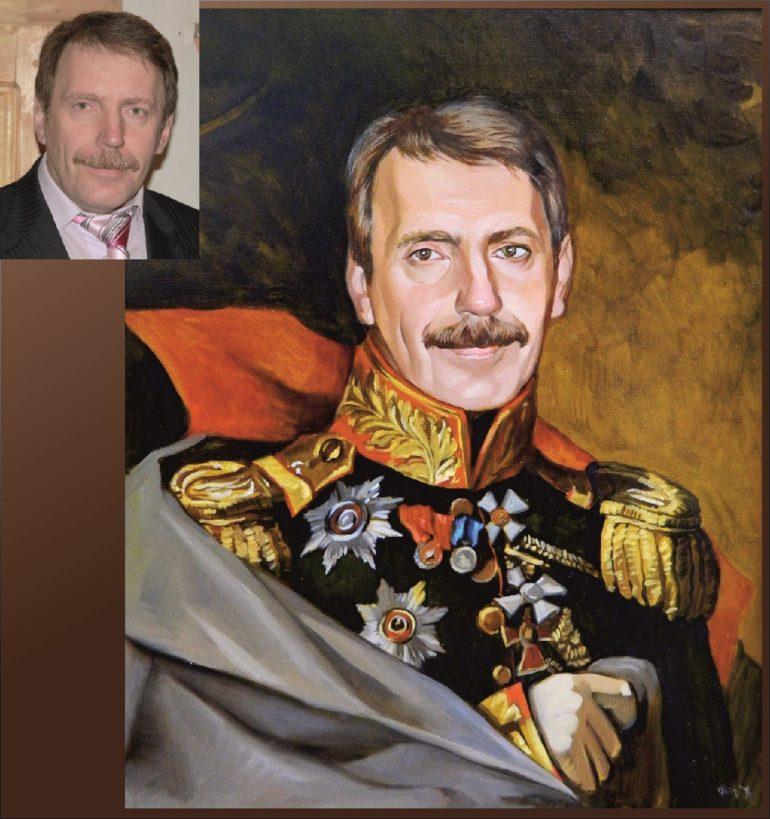 Настоящий портрет маслом на заказ в Косторме…