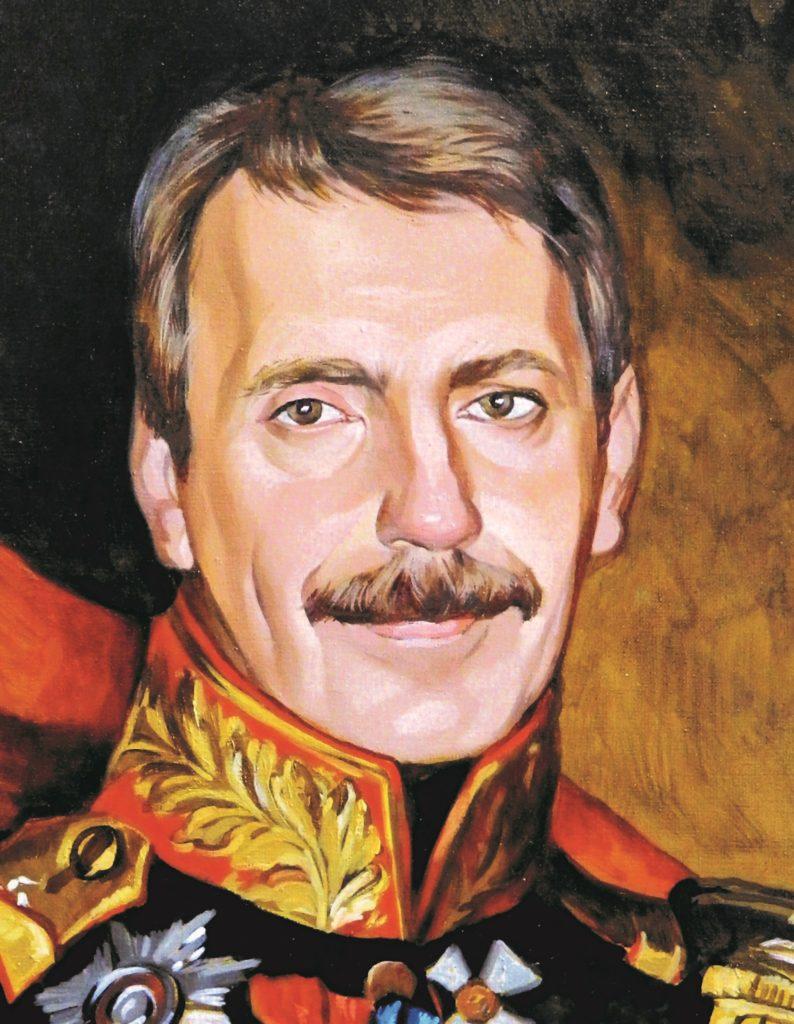 портрет маслом по фото Косторма