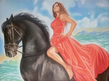 Настоящий портрет маслом на холсте в Косторме…