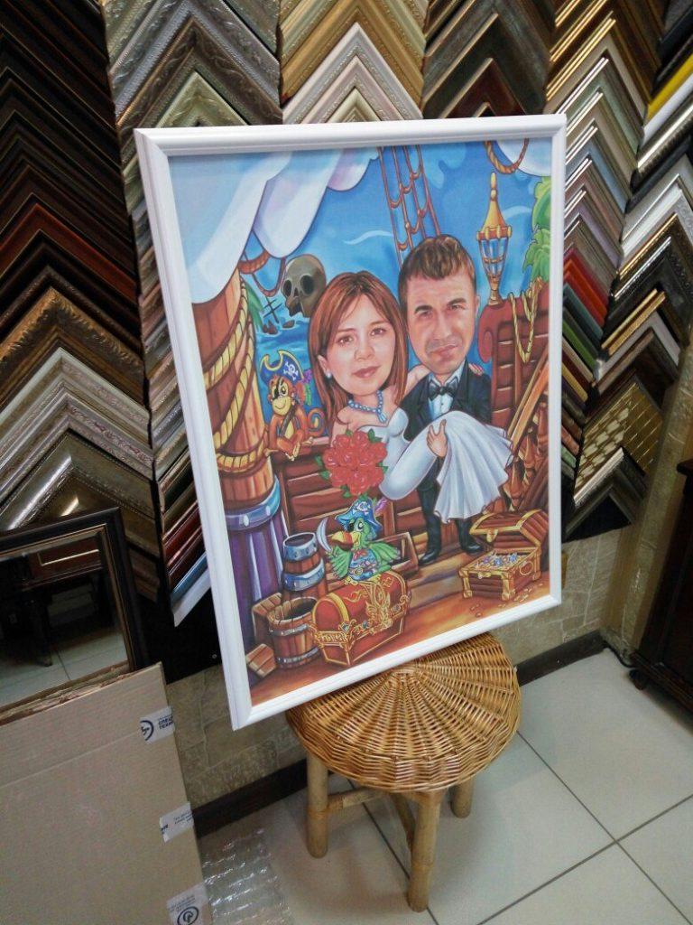 портрет шарж на заказ в Симферополе