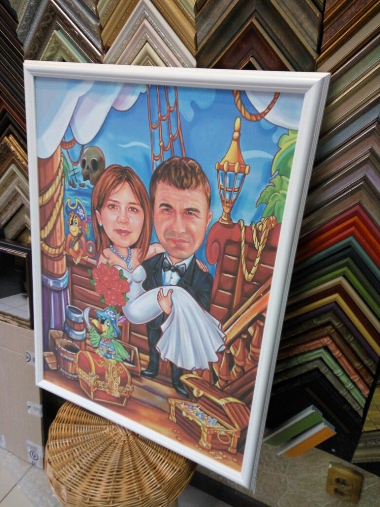 шарж по фото на заказ в Симферополе