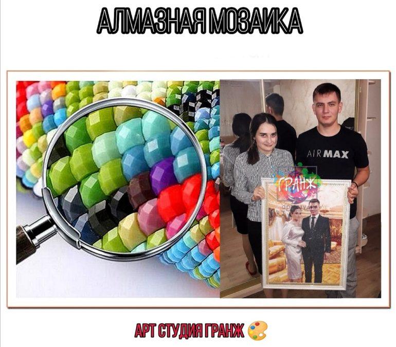 Алмазная мозаика по фото заказать в Якутске